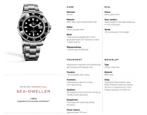 Rolex new 2017 Single Red Sea Dweller 43mm (4)