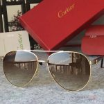 2017 New Cartier Vintage Sunglasses AAA Copy - Men Gift