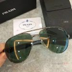 AAA Copy Prada double-bar Sunglasses - Mens PRADA Gray Sunglasses