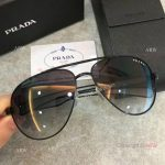 AAA Copy Prada double-bar Sunglasses - Mens PRADA Gray Sunglasses (2)