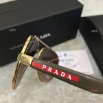 AAA Copy Prada double-bar Sunglasses - Mens PRADA Gray Sunglasses (6)