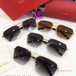 AAA Grade Cartier Edition Santos-Dumont Copy Sunglasses Double-bar Sunglasses (10)