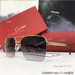 AAA Grade Cartier Edition Santos-Dumont Copy Sunglasses Double-bar Sunglasses (5)