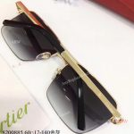 AAA Grade Cartier Edition Santos-Dumont Copy Sunglasses Double-bar Sunglasses (7)
