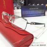Supper AAA Quality Cartier Eyeglasses - Cartier Silver Eyeglasses (2)