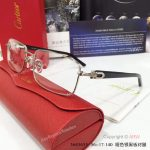 Supper AAA Quality Cartier Eyeglasses - Cartier Silver Eyeglasses (3)