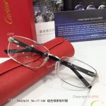 Supper AAA Quality Cartier Eyeglasses - Cartier Silver Eyeglasses (5)