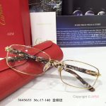 Supper AAA Quality Cartier Gold Frame Eyeglasses - New Arrival