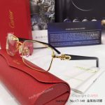 Supper AAA Quality Cartier Gold Frame Eyeglasses - New Arrival (3)