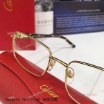 Supper AAA Quality Cartier Gold Frame Eyeglasses - New Arrival (5)
