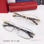 Supper AAA Quality Cartier Gold Frame Eyeglasses - New Arrival (7)