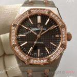 replica-audemars-piguet-royal-oak-15400-jf-stainless-steel-diamonds-black-dial-swiss-3120
