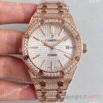 replica-audemars-piguet-royal-oak-15400-n-rose-gold-diamond-silver-dial-swiss-3120