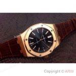 replica-audemars-piguet-royal-oak-15400-rose-gold-black-dial-swiss-9015