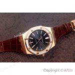 replica-audemars-piguet-royal-oak-15400-rose-gold-diamonds-black-dial-swiss-9015