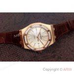 replica-audemars-piguet-royal-oak-15400-rose-gold-diamonds-white-dial-swiss-9015