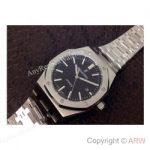 replica-audemars-piguet-royal-oak-15400-stainless-steel-black-dial-stainless-steel-bracelet-swiss-9015