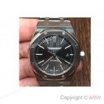 replica-audemars-piguet-royal-oak-15400-stainless-steel-black-dial-swiss-3120