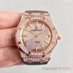 replica-audemars-piguet-royal-oak-15450-jf-rose-gold-diamonds-diamond-dial-swiss-3120