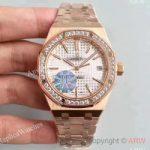 replica-audemars-piguet-royal-oak-15450-jf-rose-gold-diamonds-silver-dial-swiss-3120