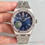 replica-audemars-piguet-royal-oak-15450-jf-stainless-steel-diamonds-blue-dial-swiss-3120