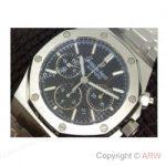 replica-audemars-piguet-royal-oak-26320-stainless-steel-black-dial-swiss-7750