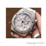 replica-audemars-piguet-royal-oak-26320-stainless-steel-white-dial-rubber-strap-swiss-7750