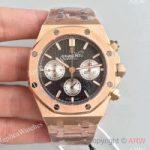 replica-audemars-piguet-royal-oak-chronograph-26320-jh-rose-gold-black-dial-swiss-7750