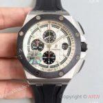 replica-audemars-piguet-royal-oak-offshore-26400soooa002ca01-jf-stainless-steel-white-dial-swiss-3126