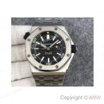 replica-audemars-piguet-royal-oak-offshore-diver-15703-stainless-steel-black-dial-swiss-3120