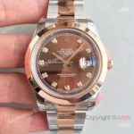 replica-rolex-datejust-ii-116333-41mm-ew-stainless-steel-rose-gold-chocolate-dial-swiss-3136(2)
