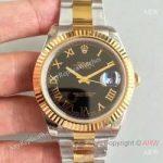 replica-rolex-datejust-ii-116333-41mm-ew-stainless-steel-yellow-gold-black-dial-swiss-3136(2)