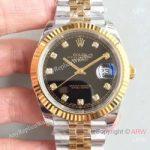 replica-rolex-datejust-ii-116333-41mm-ew-stainless-steel-yellow-gold-black-dial-swiss-3235(1)
