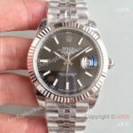 replica-rolex-datejust-ii-126334-41mm-ew-stainless-steel-anthracite-dial-swiss-3235