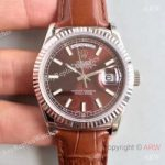 replica-rolex-day-date-118139-36mm-v5-stainless-steel-chocolate-dial-swiss-2836-2