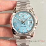 replica-rolex-day-date-40-228206-n-stainless-steel-blue-diagonal-dial-swiss-3255