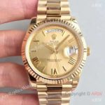 replica-rolex-day-date-40-228238-n-yellow-gold-champagne-dial-swiss-3255