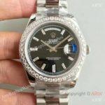 replica-rolex-day-date-40-228349rbr-40mm-kw-stainless-steel-diamonds-black-dial-swiss-3255