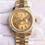 replica-rolex-day-date-ii-218238-41mm-kw-yellow-gold-diamonds-champagne-dial-swiss-3255
