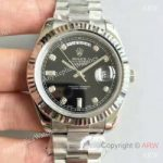 replica-rolex-day-date-ii-218239-41mm-v6-stainless-steel-black-dial-swiss-2836-2