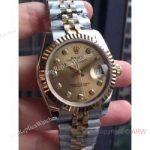 replica-rolex-lady-datejust-31-178273-v5-31mm-stainless-steel-yellow-gold-champagne-dial-swiss-2836-2