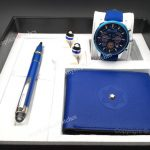 2019 Newest Montblanc Blue Pen and Wallet Watches (2)