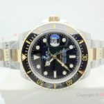 New Replica Rolex SEA-DWELLER 43mm Two Tone Black Watch (1)