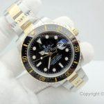 New Replica Rolex SEA-DWELLER 43mm Two Tone Black Watch (3)