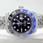Rolex GMT Master II Black Blue Bezel 40mm Replica Watch (1)