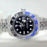 Rolex GMT Master II Black Blue Bezel 40mm Replica Watch (10)