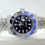 Rolex GMT Master II Black Blue Bezel 40mm Replica Watch (10)