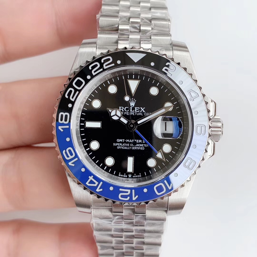 Rolex GMT Master ii Black Blue Jubilee watches