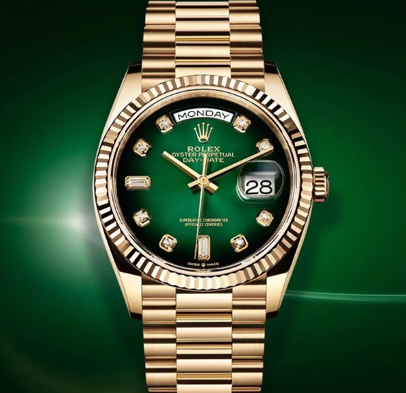 Rolex Day Date diamonds watch