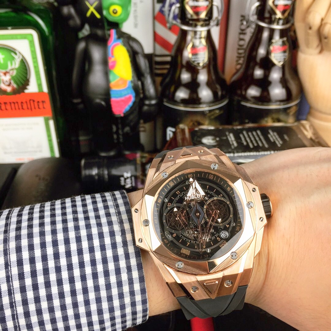 New Hublot Big Bang Sang Bleu II Copy Watch (1)